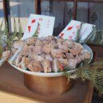 北野天満宮の大福梅は新年の縁起物。12月13日の事始めより授与開始