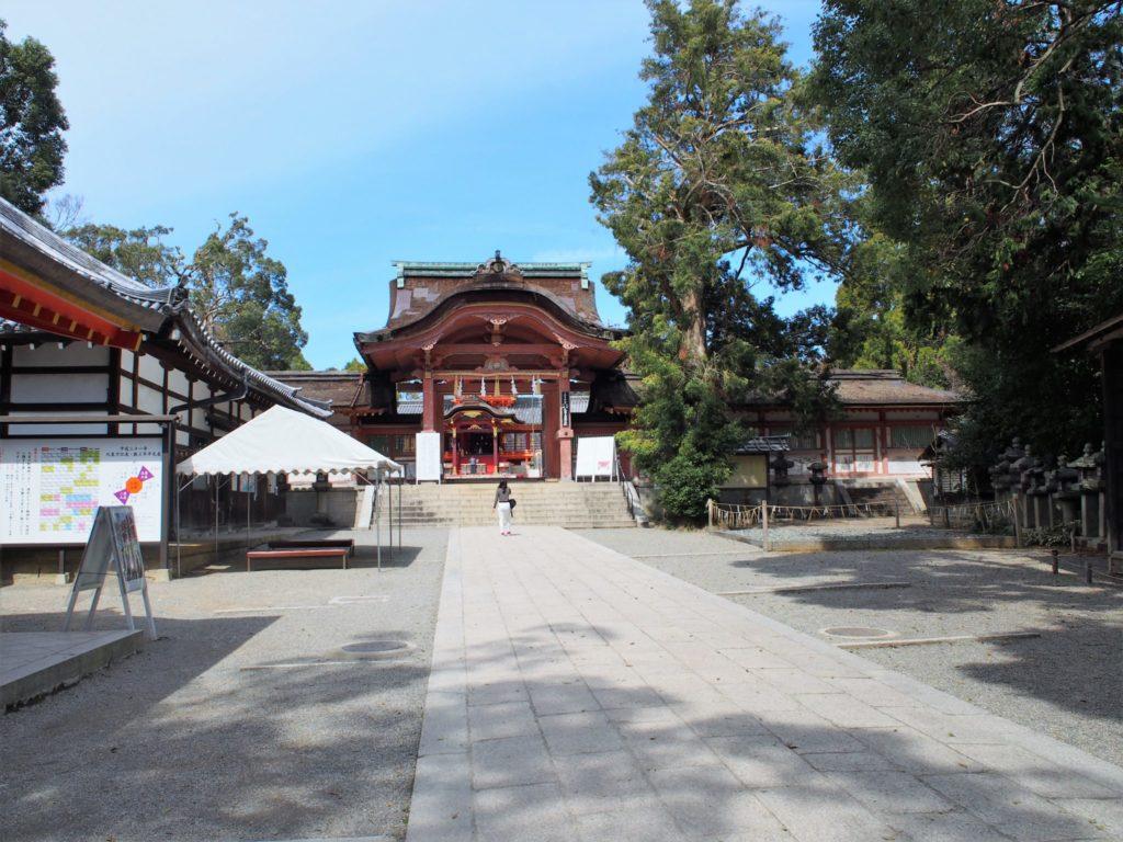 石清水八幡宮の南総門