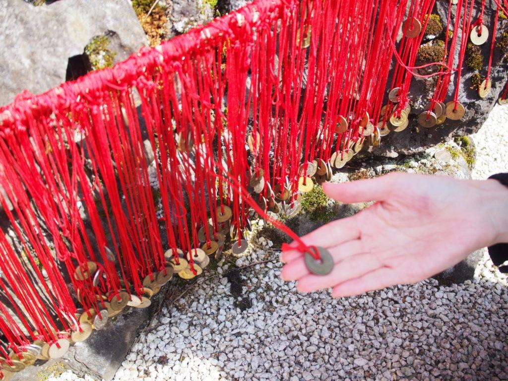 赤い糸を結ぶ