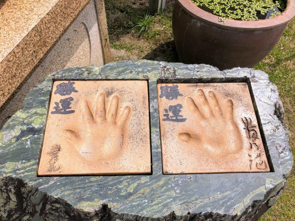 若乃花と貴乃花の手形
