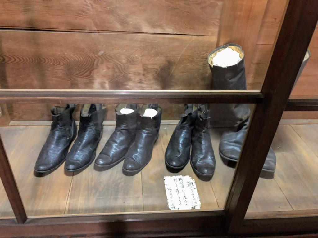 乃木大将が実際に履いていた靴