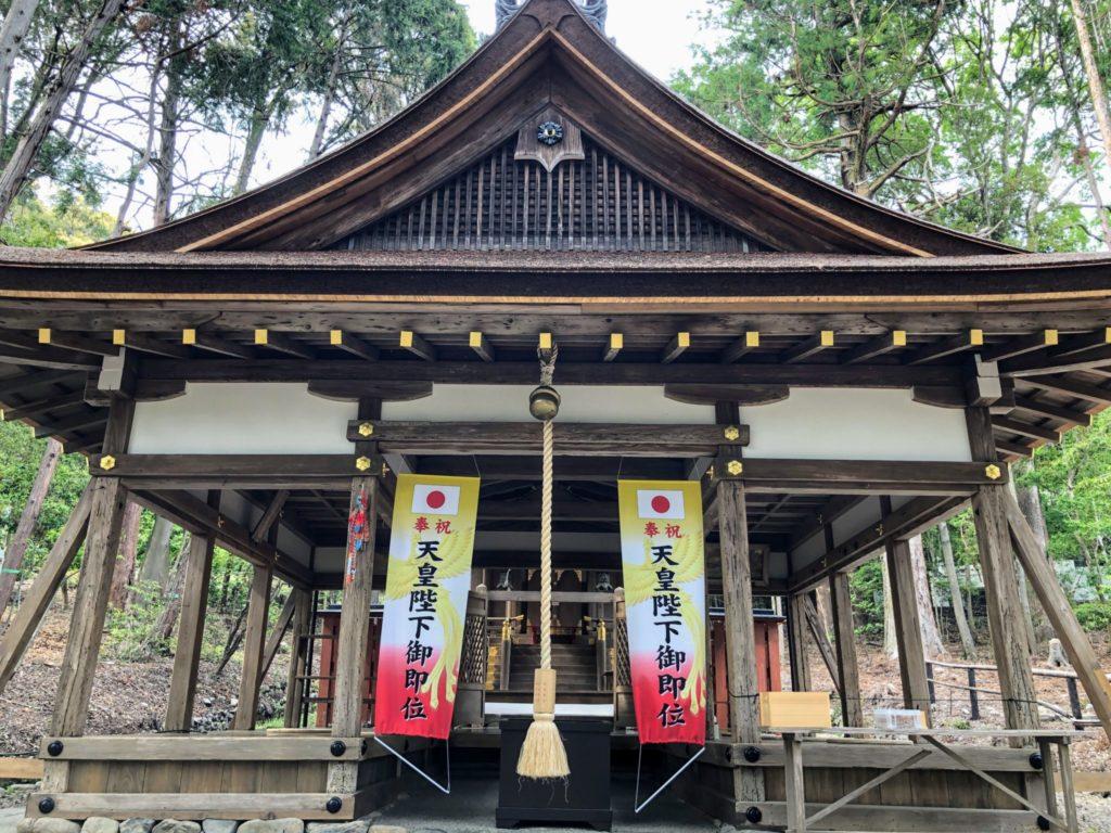 太田神社の本殿・拝殿
