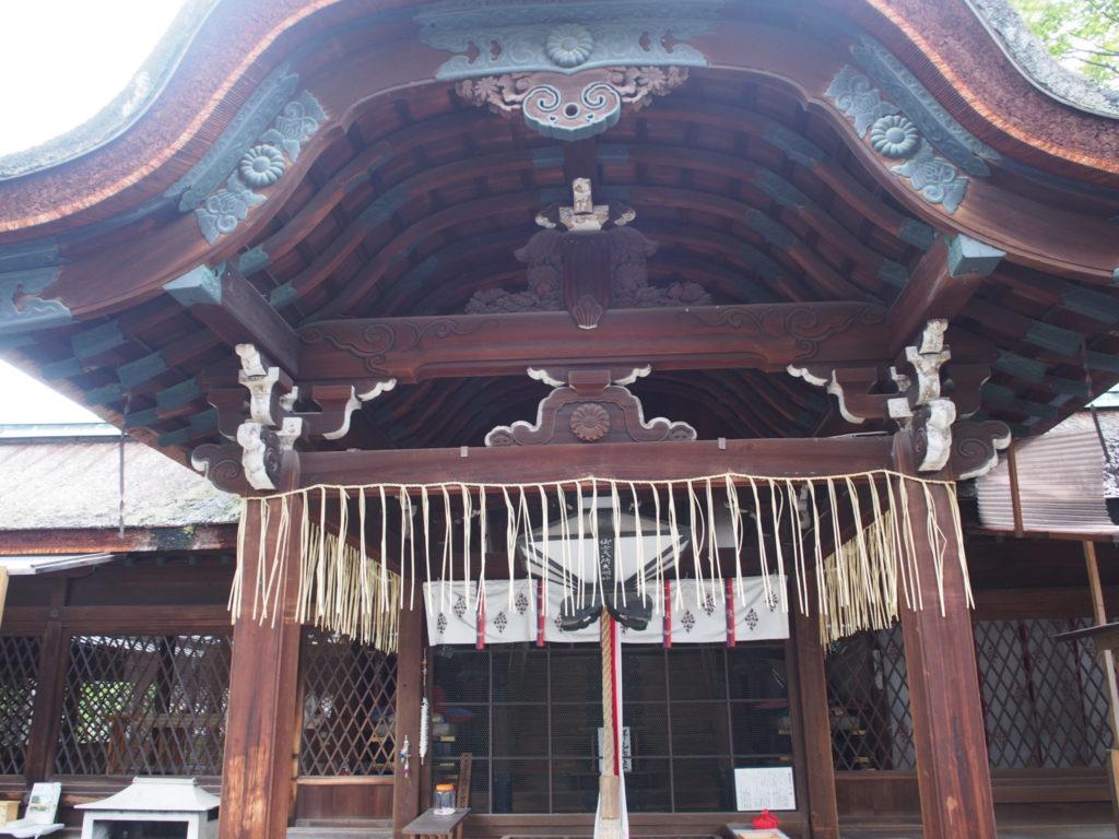 下御霊神社の本殿