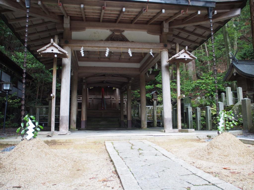 崇道神社のご本殿