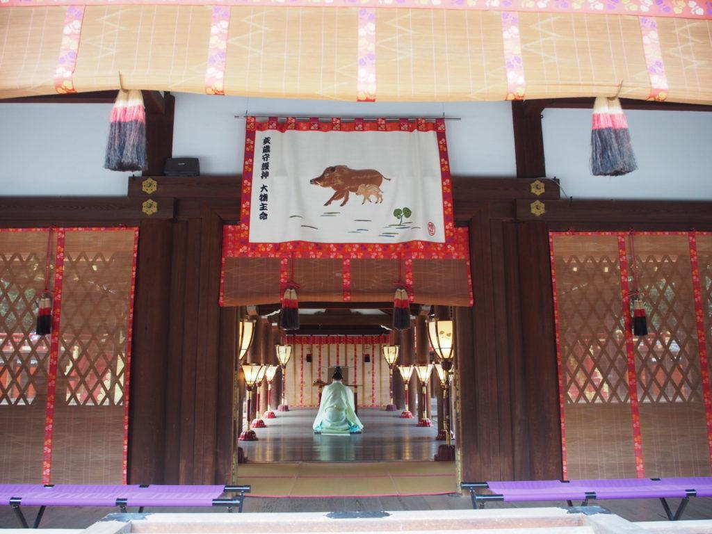 下鴨神社の本殿