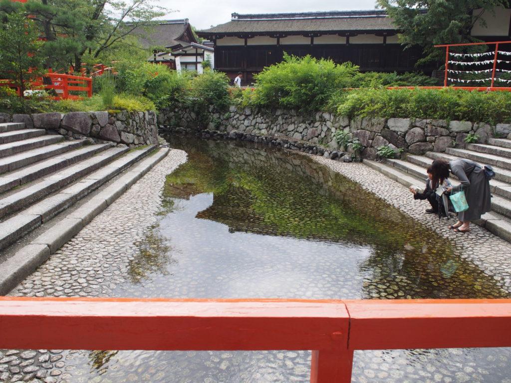 下賀茂神社の御手洗川
