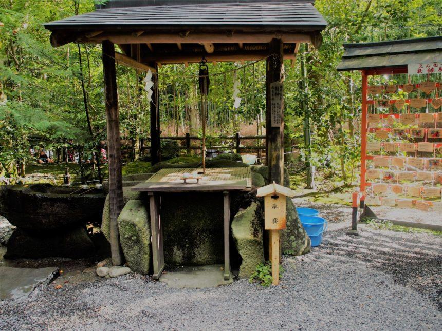 野宮神社の龍神さまの井戸