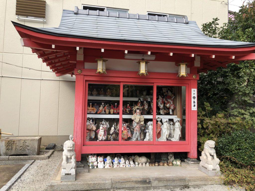 粟嶋堂の人形舎