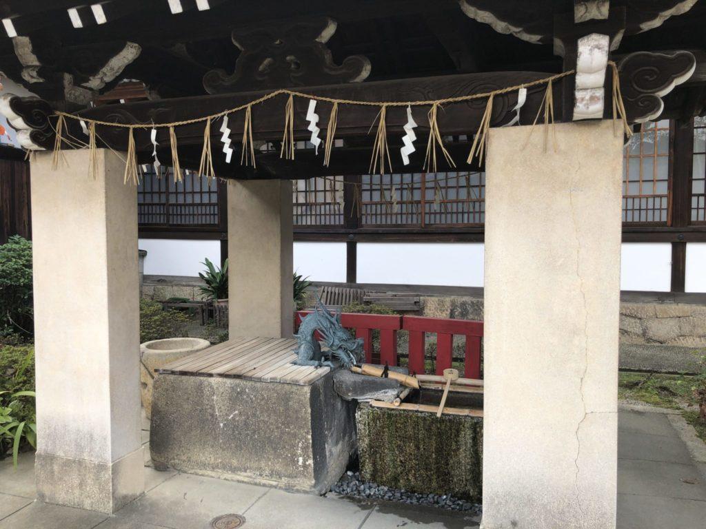 六孫王神社の手水舎