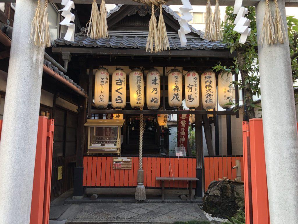 繁昌神社の拝殿