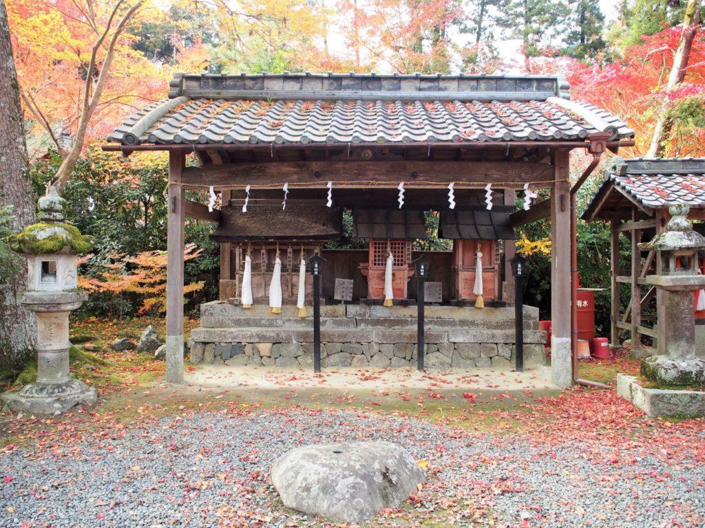 熊野神社・日吉神社・高樹神社・樫船神社・金山神社