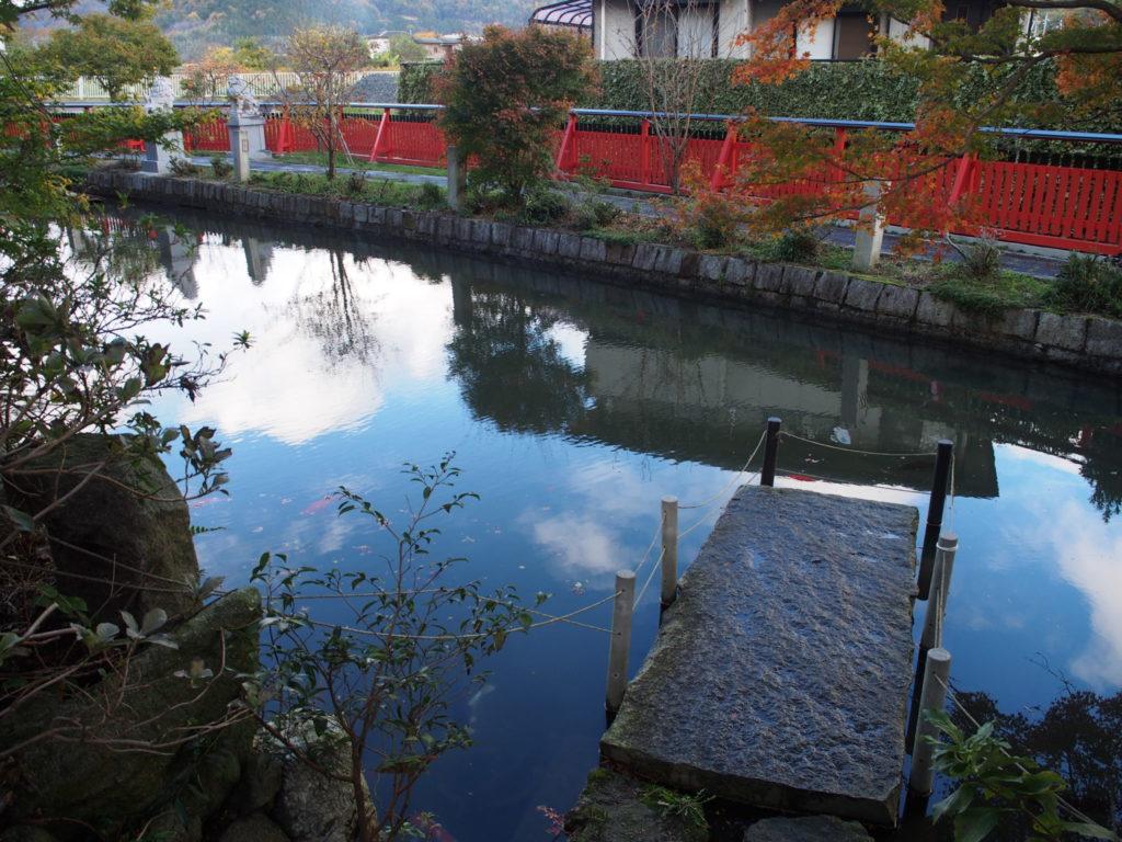 稗田野神社の禊ぎ場