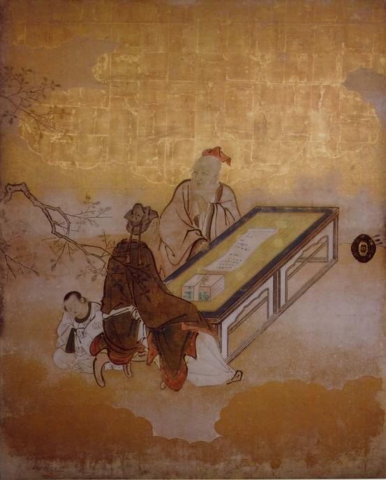 宸殿の動く襖絵(毘沙門堂ホームページより)