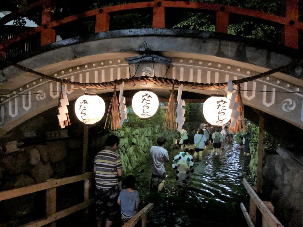 下鴨神社の御手洗祭り