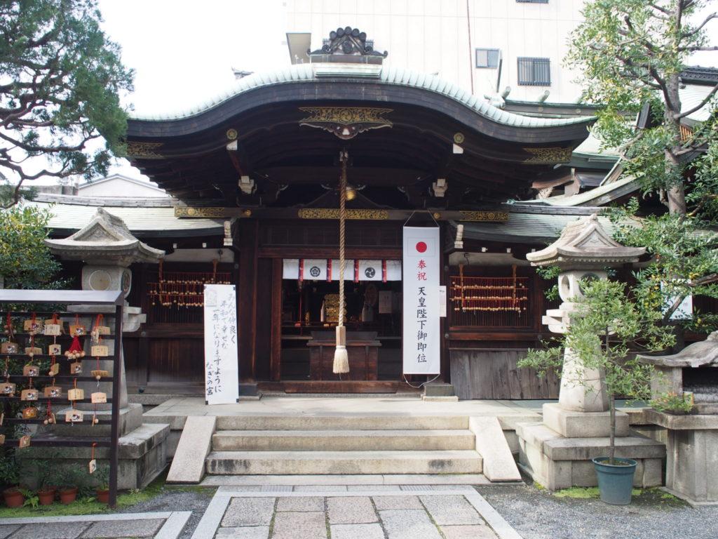 梛神社の拝殿