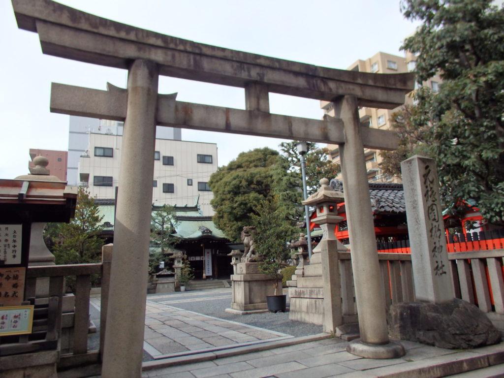 梛神社の鳥居