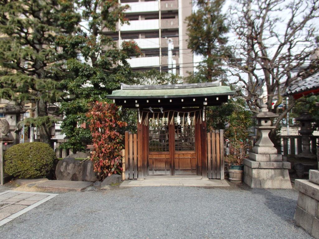梛神社の摂社「田中神社」