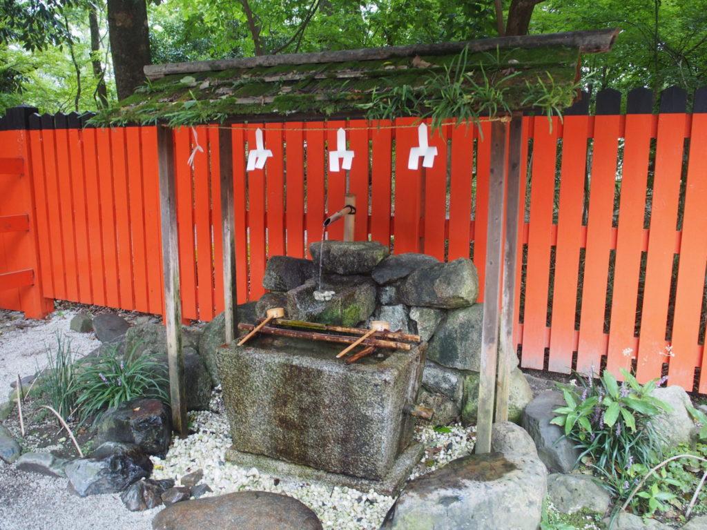 河合神社の手水舎