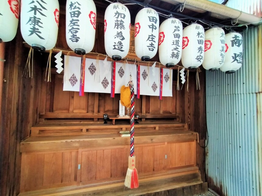 御金神社の末社