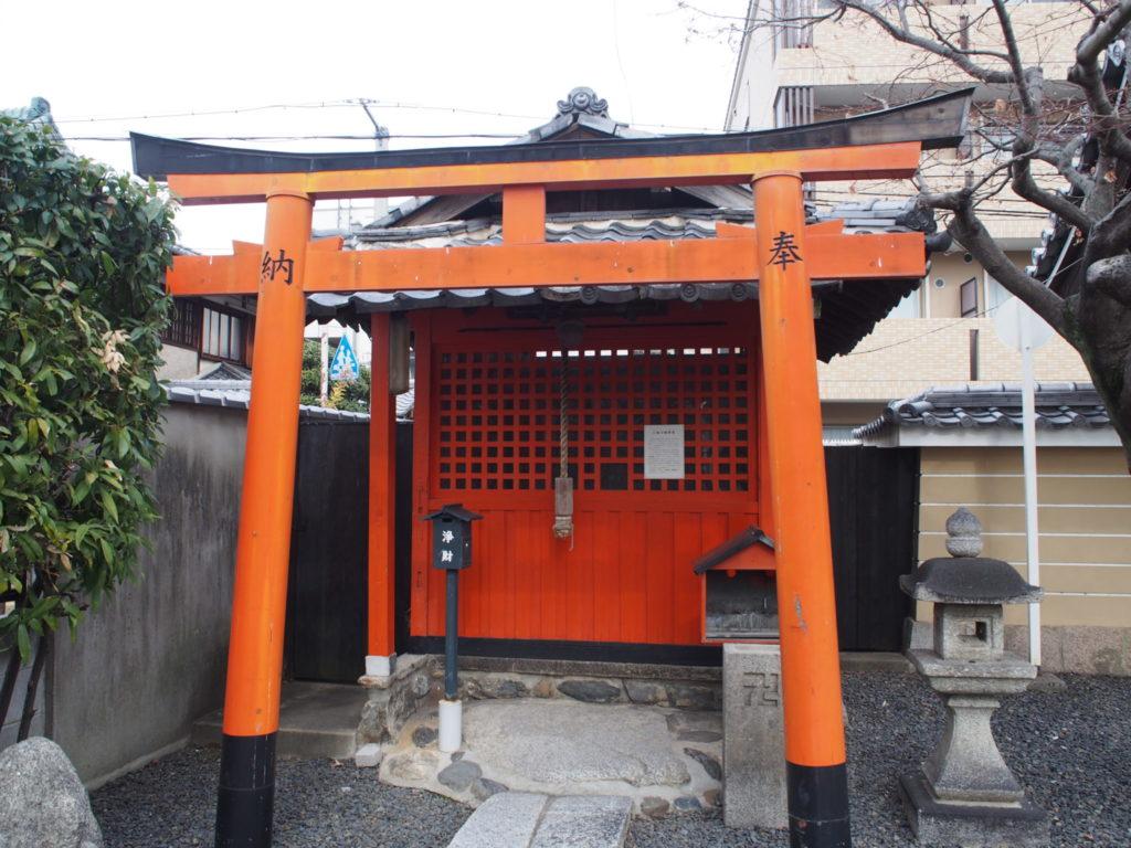 壬生寺の三福川稲荷堂