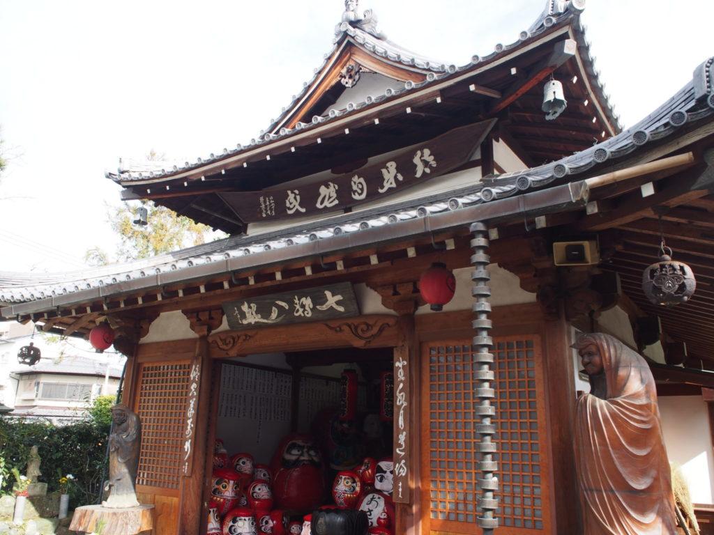 達磨寺の達磨堂