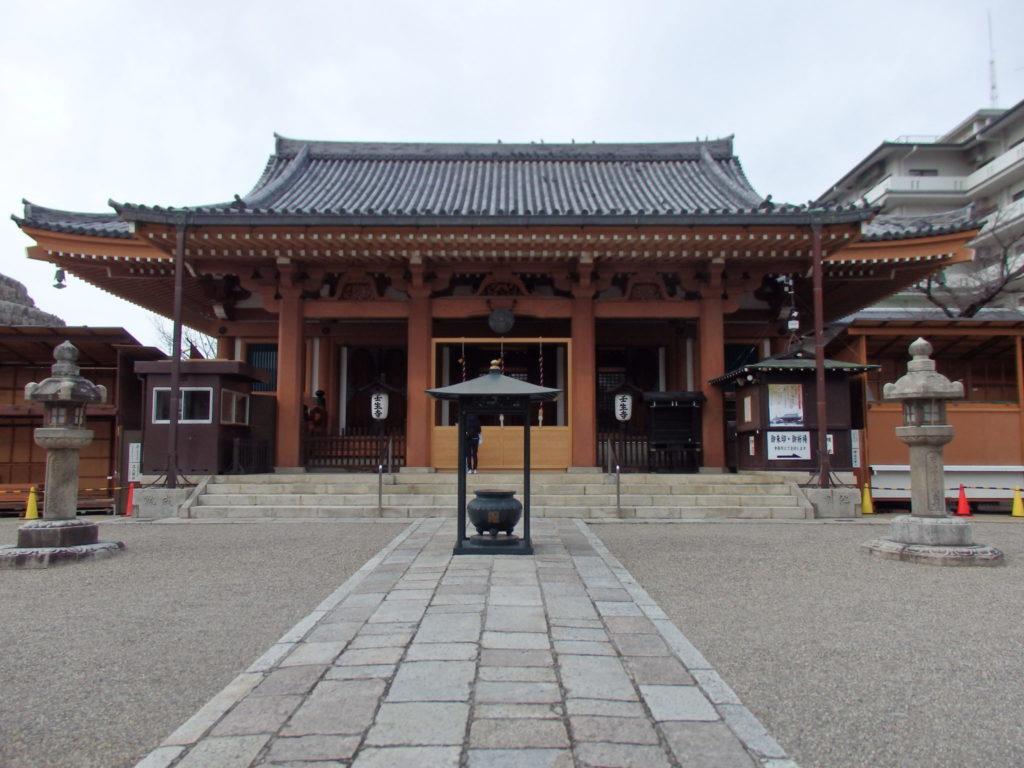 壬生寺の本堂
