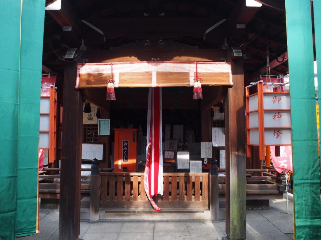 御辰稲荷神社の本殿