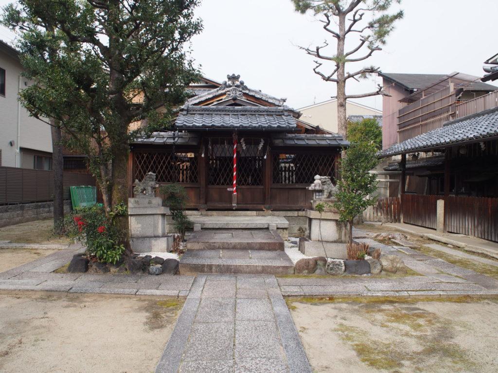 幸神社のご本殿