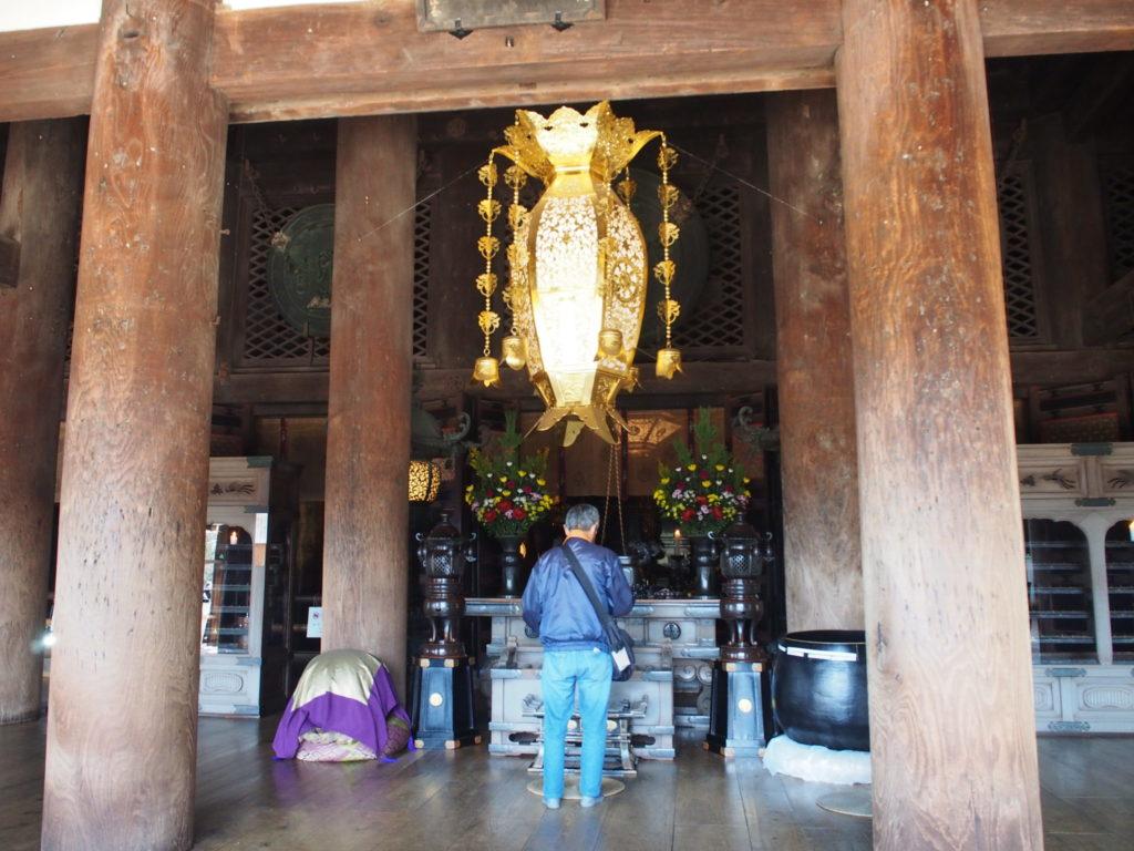 清水寺のご本尊が祀られているご本堂
