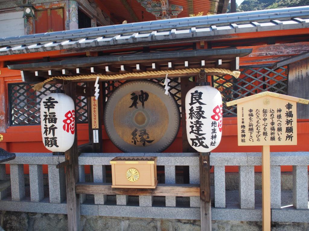 地主神社の幸福祈願所