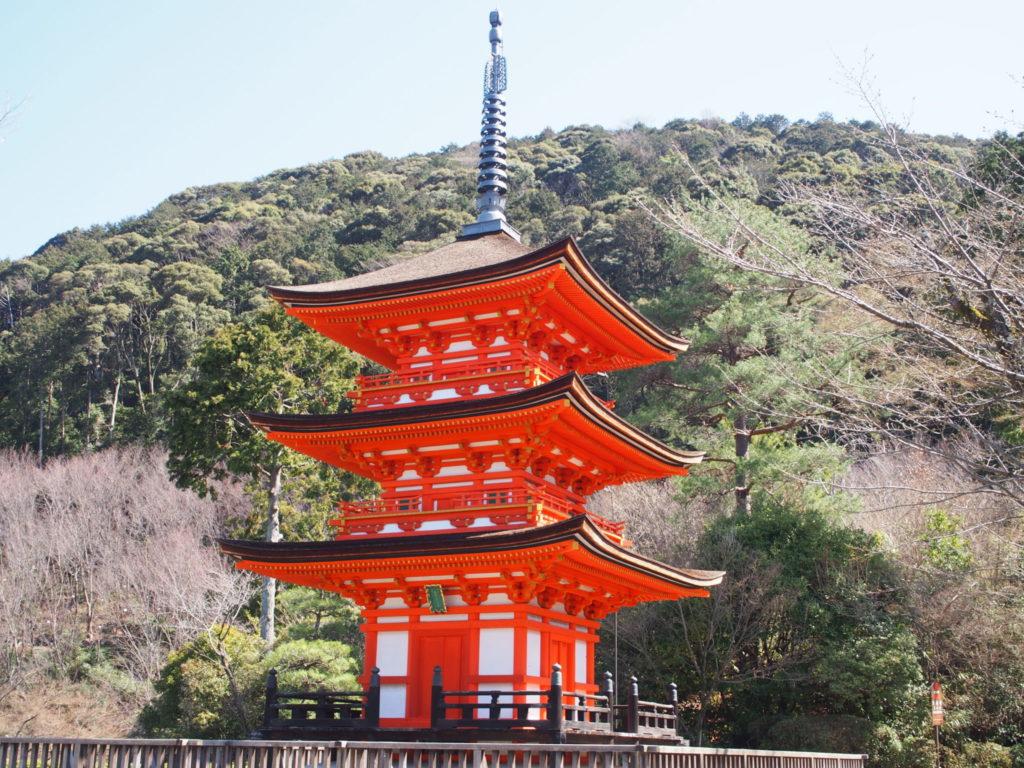清水寺の子安塔