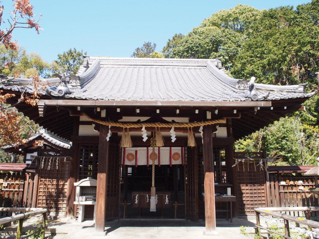 新熊野神社のご本殿