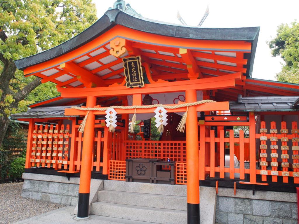 東丸神社の拝殿