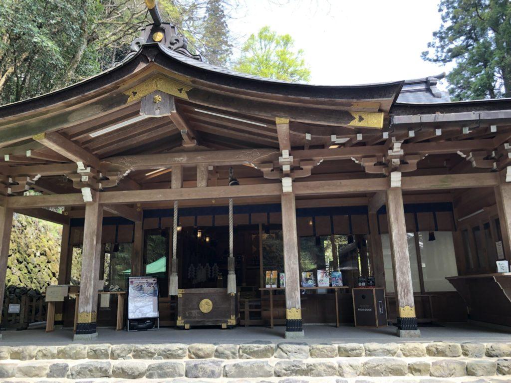 貴船神社のご祈祷場所 本宮の社殿