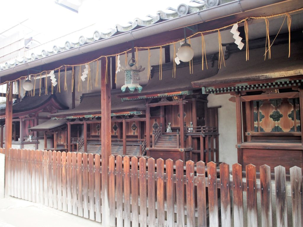 幸神社の末社