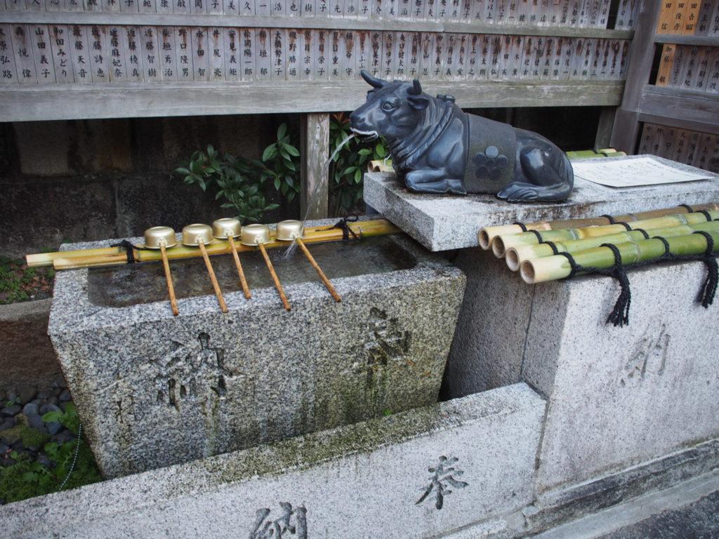 菅原院天満宮神社の手水舎