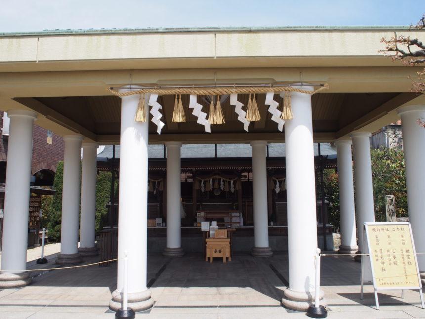 飛行神社の社殿