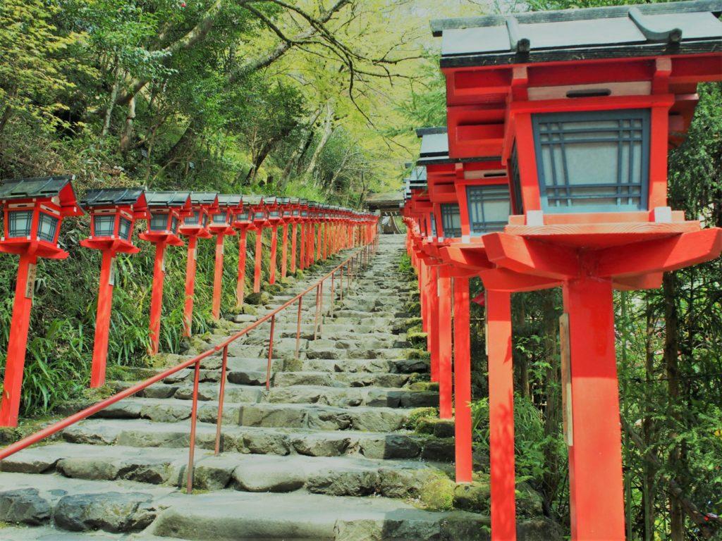 日本三大縁結び神社の貴船神社