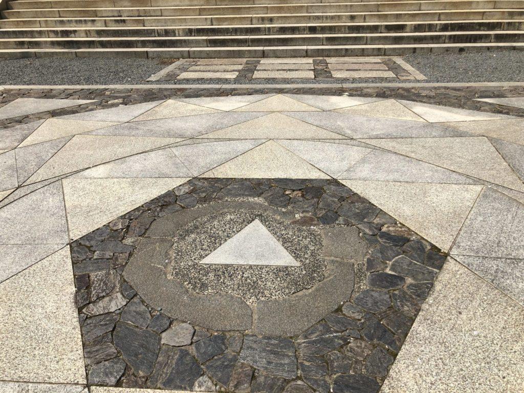 鞍馬寺の星曼荼羅