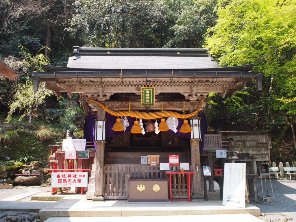 由岐神社のご本殿