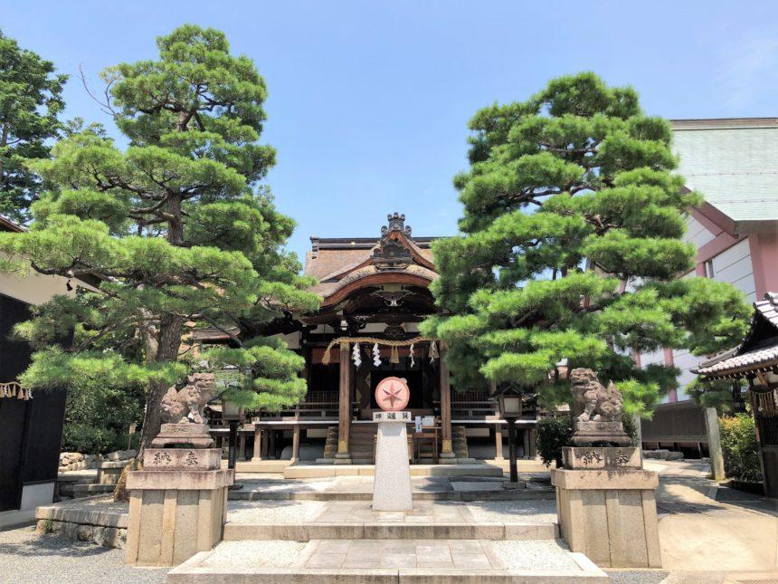大将軍八神社の本殿