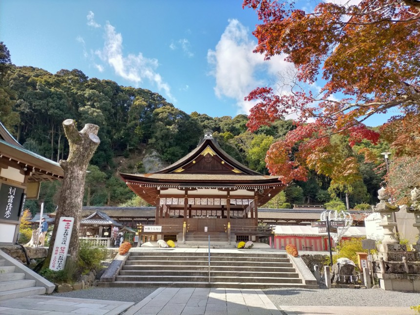 松尾大社の拝殿