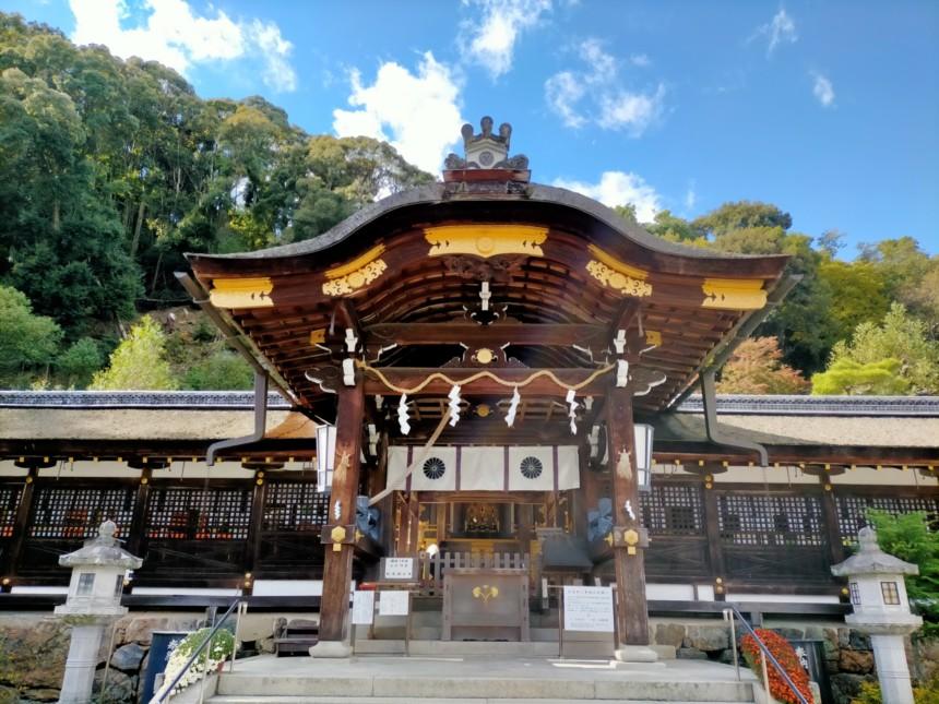 松尾大社の中門