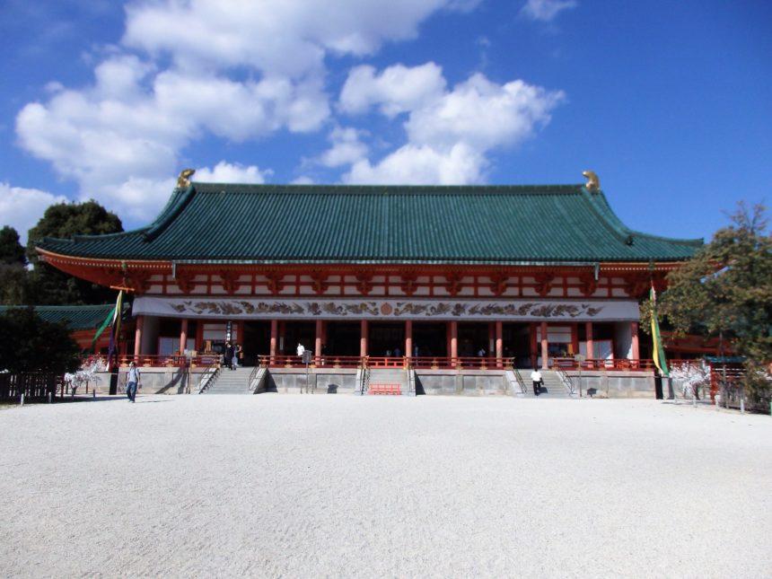 平安神宮の外拝殿「大極殿」