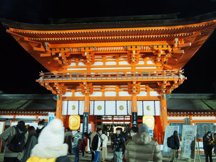 年明け直後の下鴨神社
