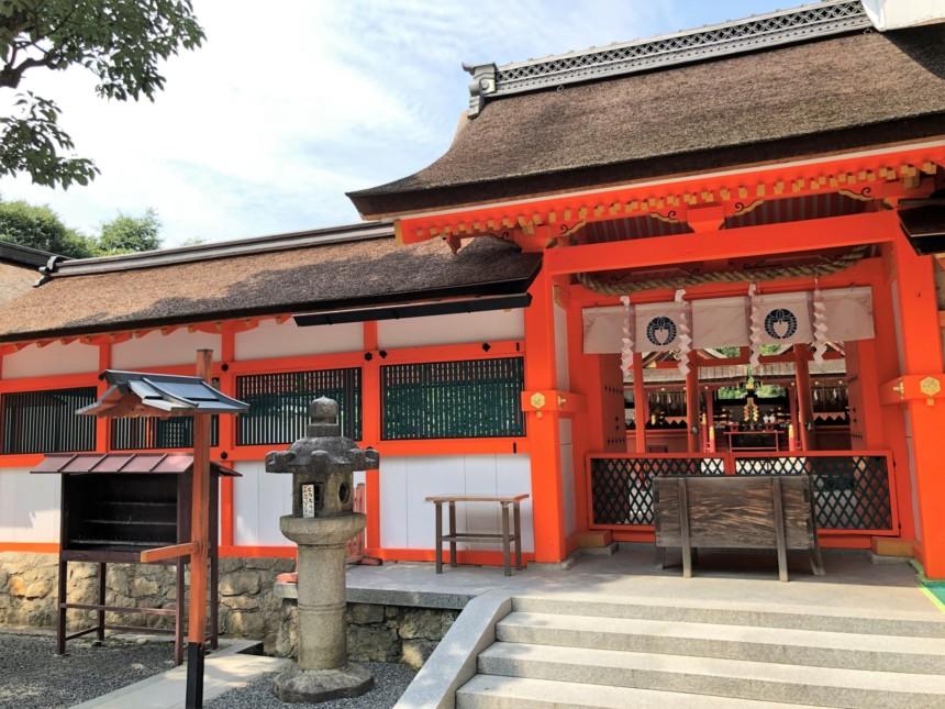 吉田神社の拝殿