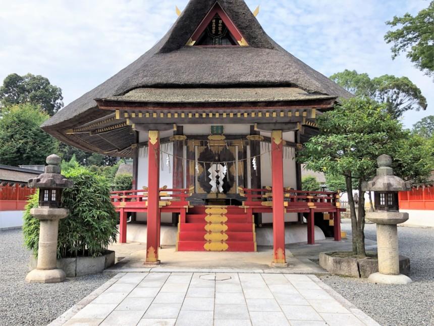 全国の神々を祀る「大元宮」の本殿