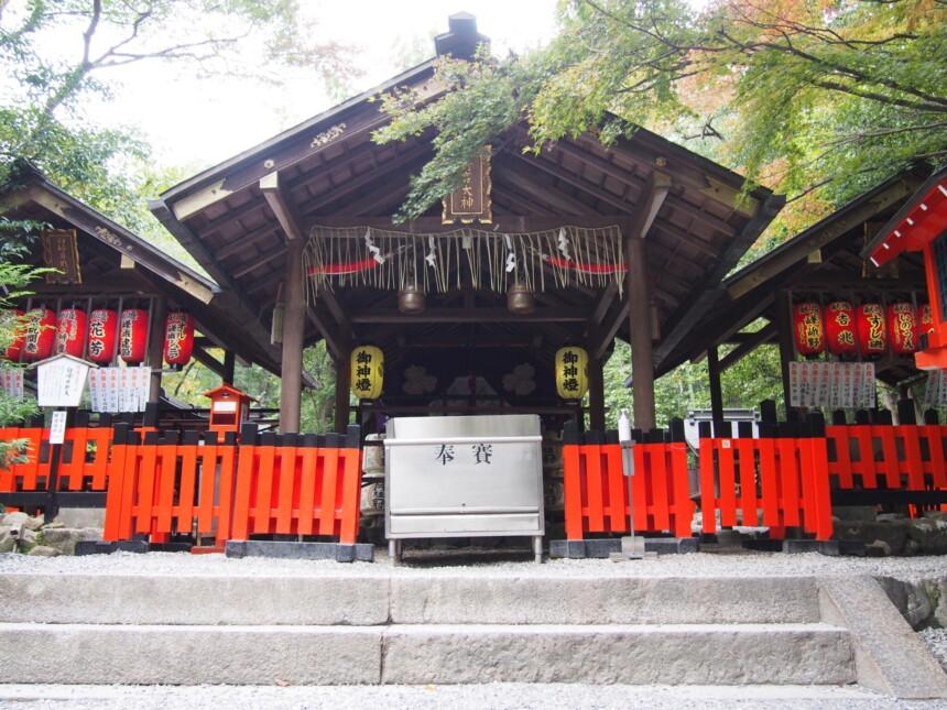 野宮神社の拝殿