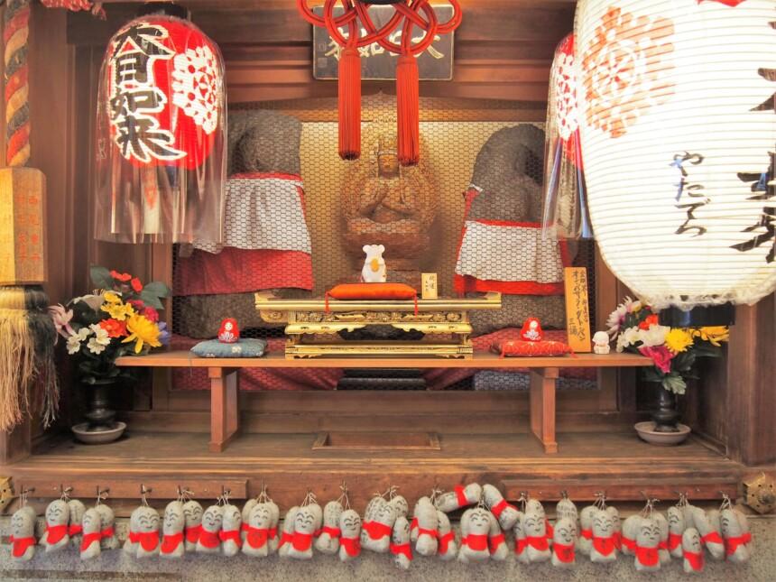 矢田寺の「しあわせ大日如来」