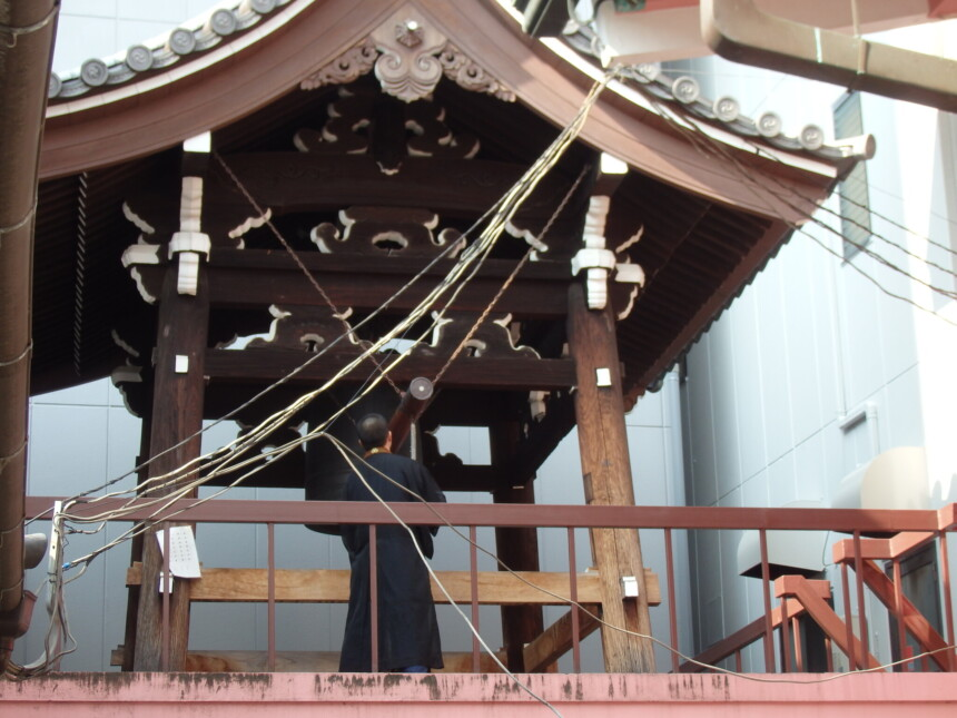 誓願寺の鐘楼